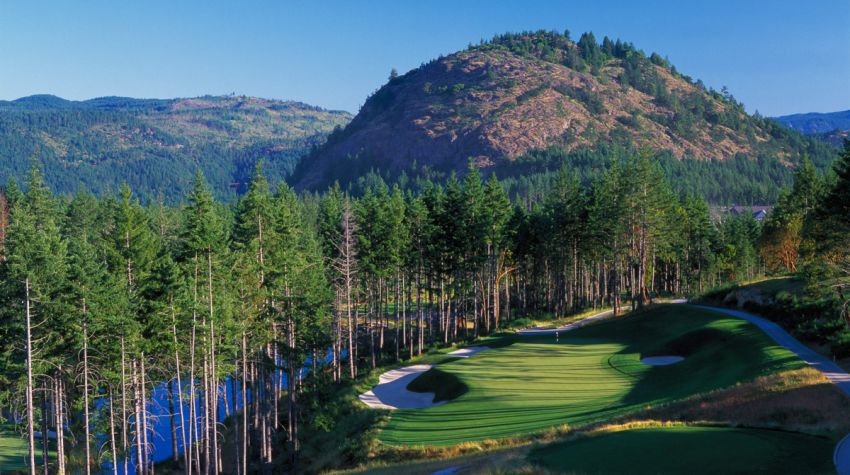 Bear Mountain golf resort, victoria BC