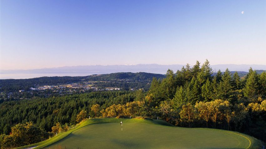 vancouver island golf resorts