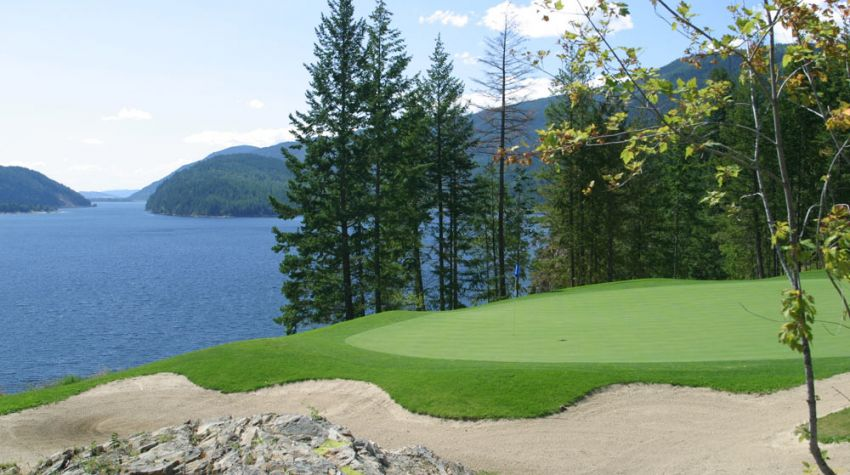 Hyde Mountain Golf Club - Hole 18