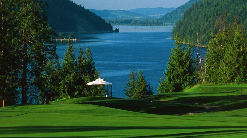 Hyde Mountain Golf Club - Hole 1