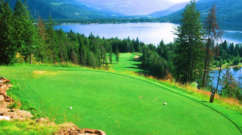 Hyde Mountain Golf Club - Hole 4