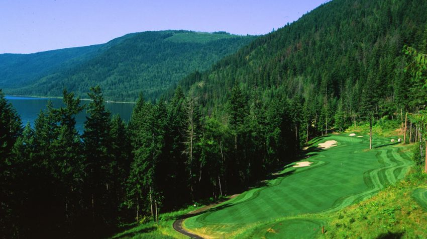 Hyde Mountain Golf Club - Hole 16