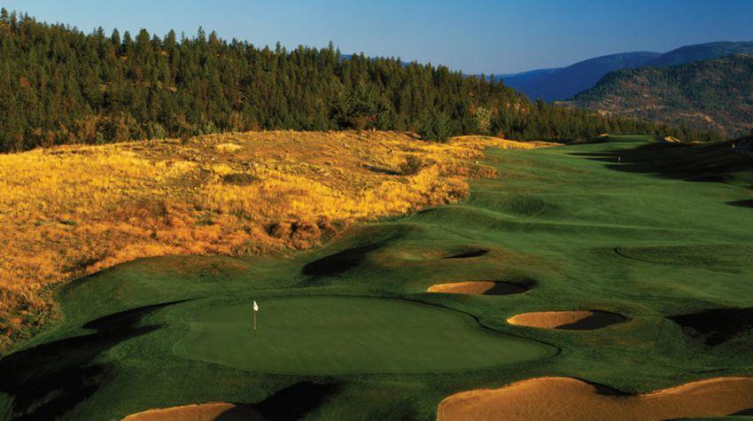 hole 11 at predator ridge golf resort -  predator course
