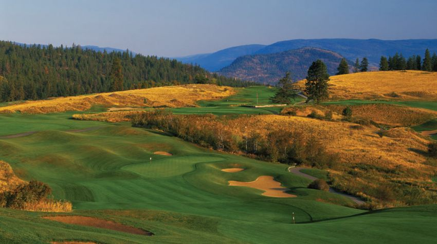 hole 16 at predator ridge golf resort -  predator course