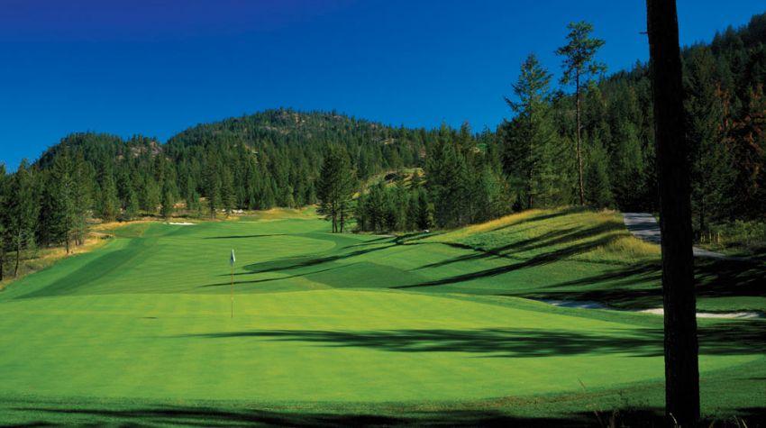 hole 7 at predator ridge golf resort - ridge course