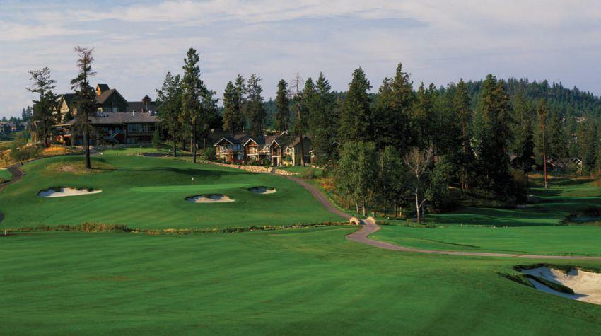 hole 18 at predator ridge golf resort - ridge course