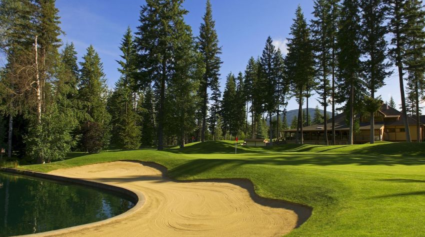 Salmon Arm Golf Club - Hole 18