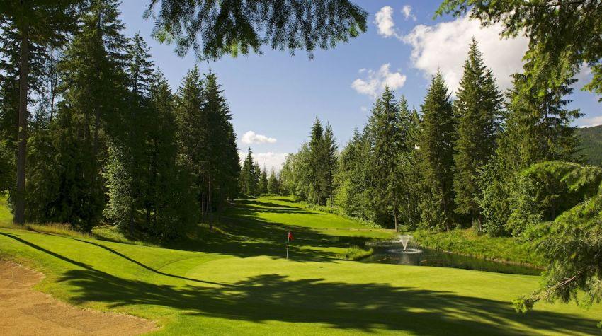 Salmon Arm Golf Club - Hole 5