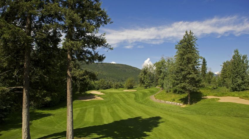 Salmon Arm Golf Club - Hole 14