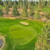 a tester par 3 - hole 17 at Sunset Ranch Golf BC