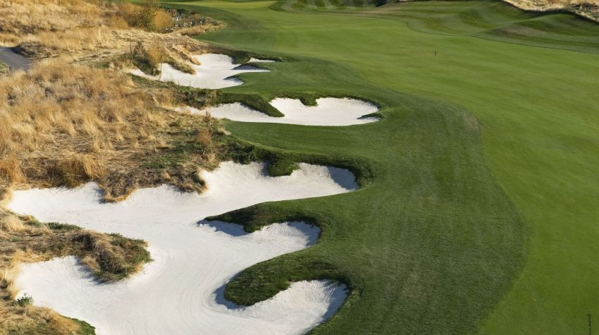 Tower Ranch golf - Hole 8 - Bunkers