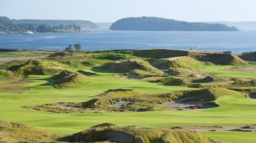 Chambers Bay Golf Course - Seattle golf packages