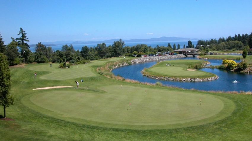 Cordova Bay GC - Vancouver Island golf packages