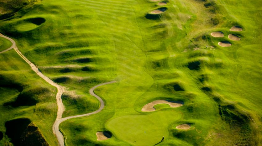 The Dunes at Kamloops - aerial photo