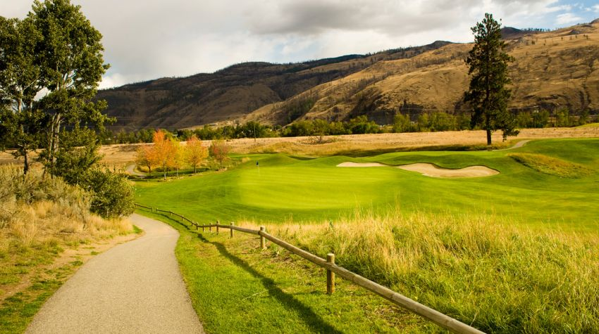 The Dunes at Kamloops - Hole 8