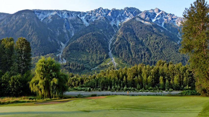 Big Sky Golf Club - Pemberton BC - Mount Currie in the background