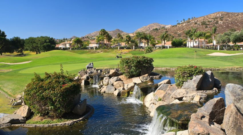 Willow Glen GC - Singing Hills Golf Resort at Sycuan - San Diego golf packages