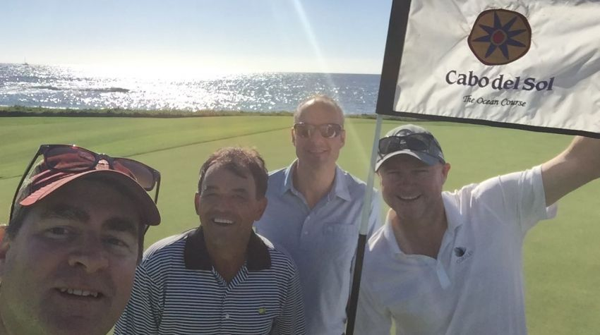 Cabo Del Sol Ocean Course - Friends (Ross, James, Matt, Sean)