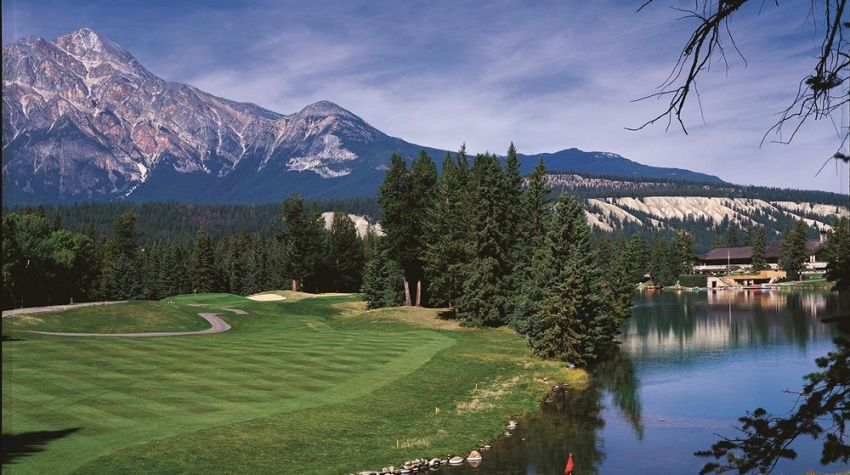 Fairmont Jasper Park Lodge GC  - Alberta golf packages