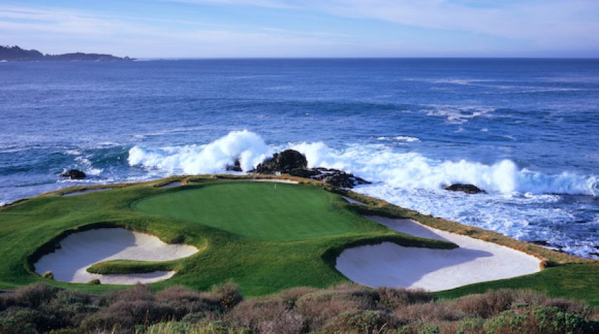 Hole 7 - Photo Courtesy Pebble Beach Resort®