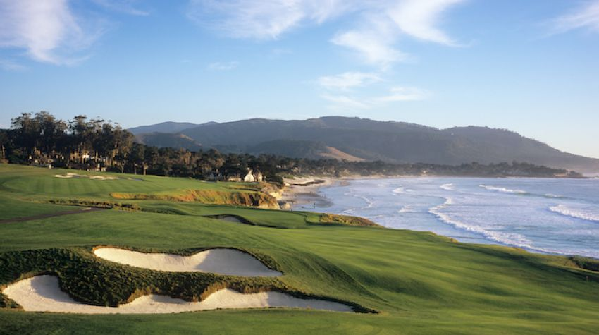 Hole 9 - Photo Courtesy Pebble Beach Resort®