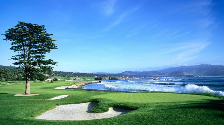 Hole 18 - Photo Courtesy Pebble Beach Resort®