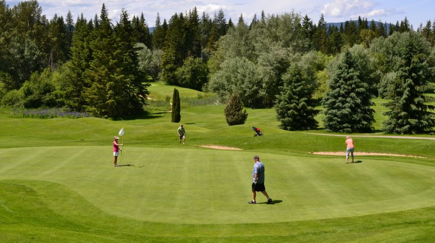 Salmon Arm GC - Heritage 9 course