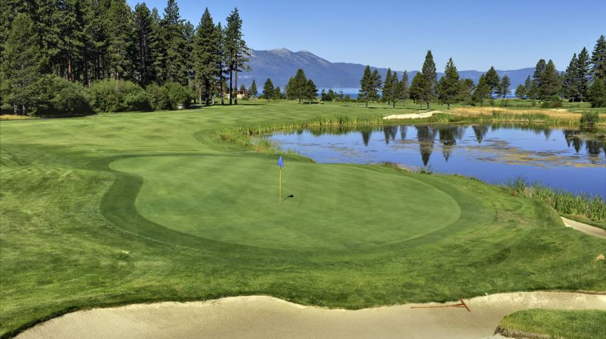 Edgewood Tahoe Golf Course 10th hole