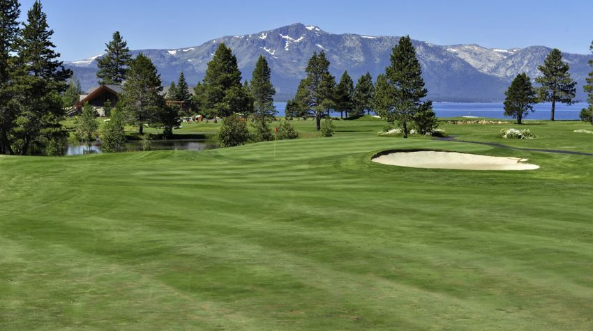 Edgewood Tahoe Golf Course 14th fairway