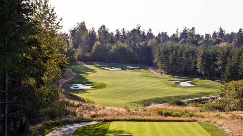 Salish Cliffs Golf Club - Washinghton State golf packages