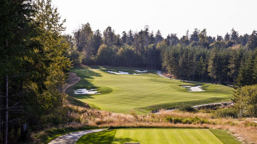 Salish Cliffs Golf Club - Washinghton State golf packages