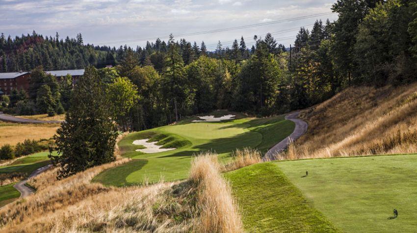 Salish Cliffs Golf Club - Washington State golf packages