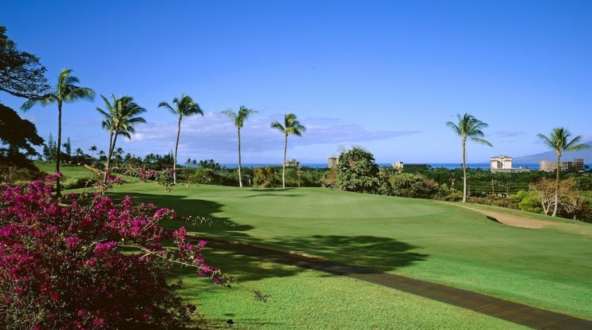 Ka'anapali Golf Courses: Kai