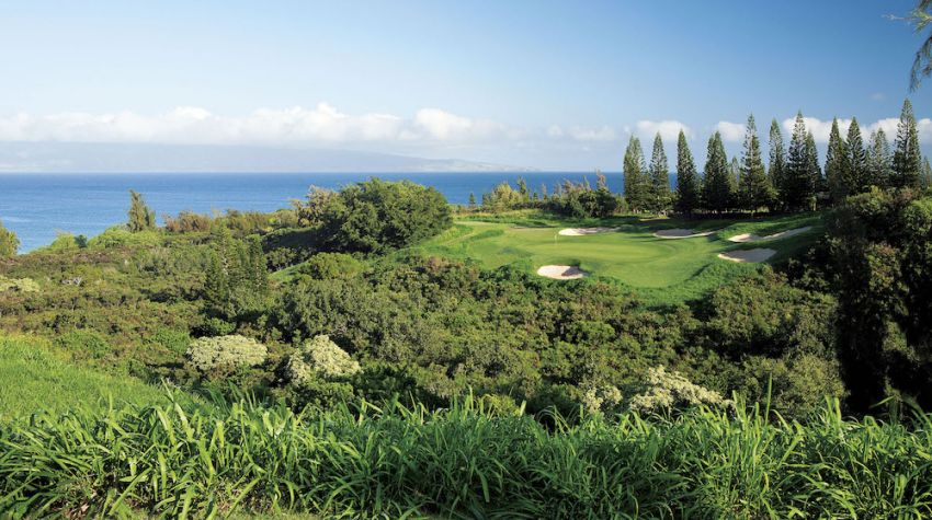 Kapalua Golf; Plantation Course