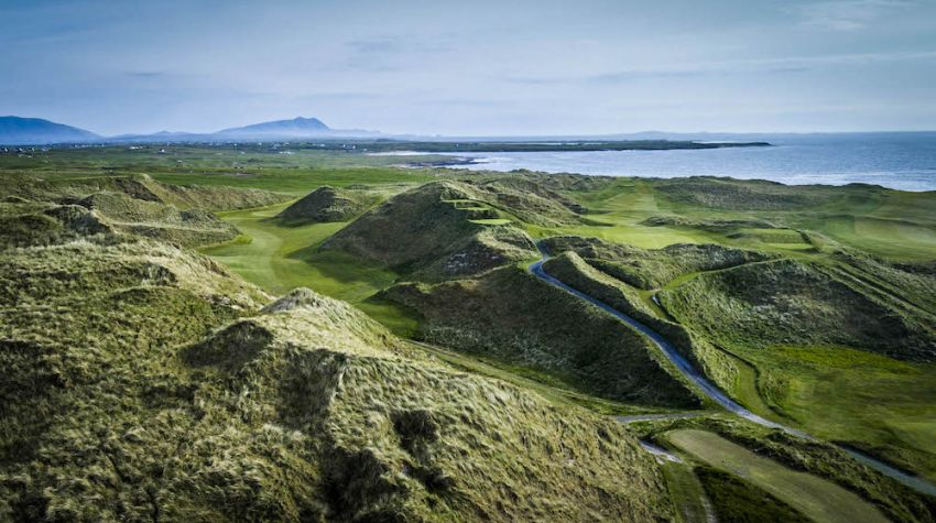 Carne Golf Links - Ireland golf packages