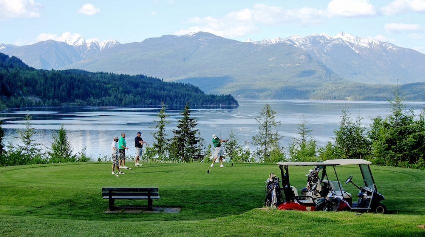 Balfour Golf Club -18th tee Box