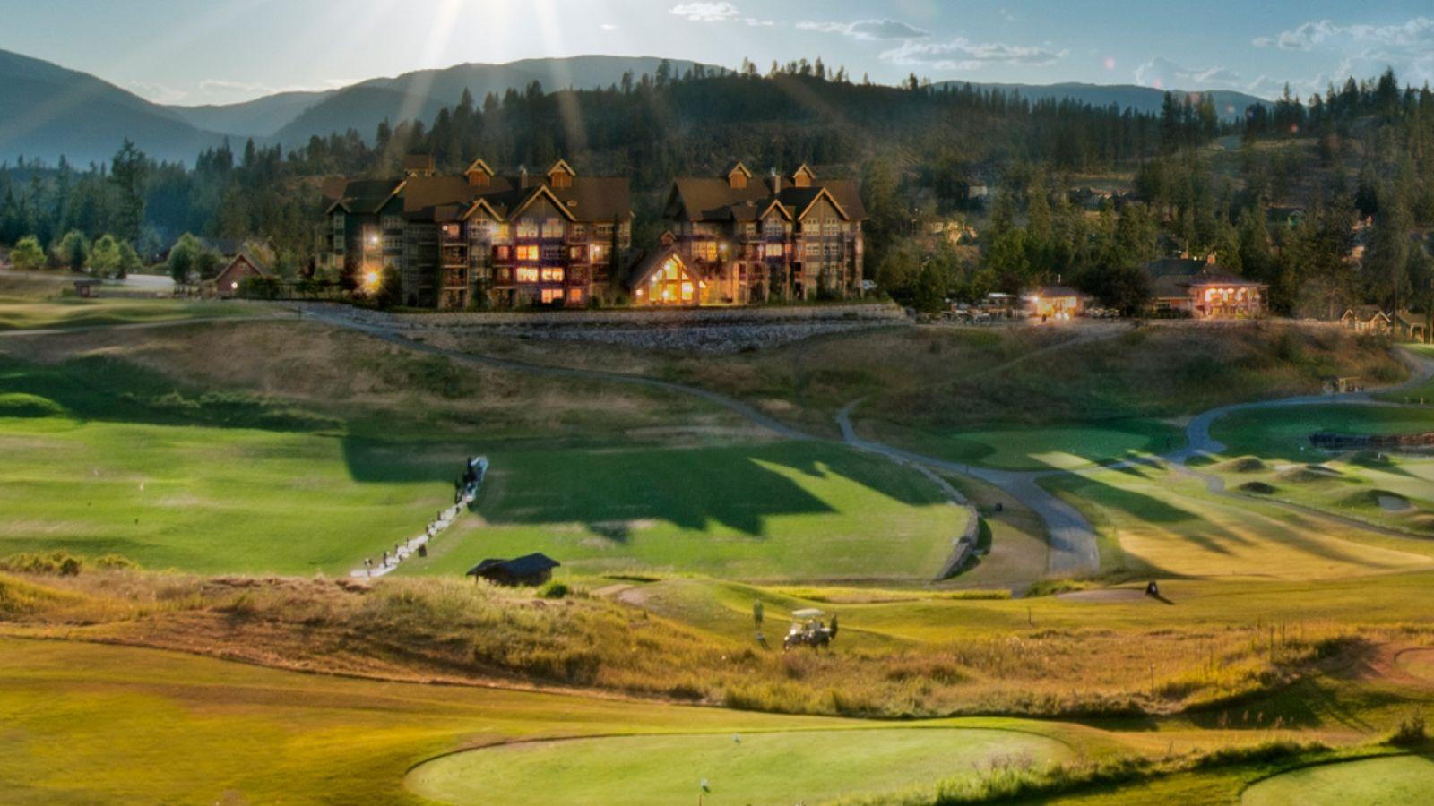 Predator Ridge Resort - View of Range and Lodges