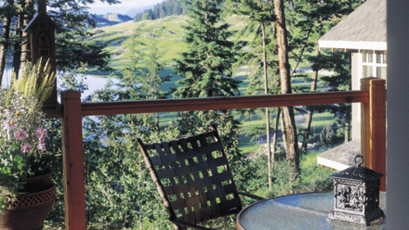 Predator Ridge Resort - Deck and View