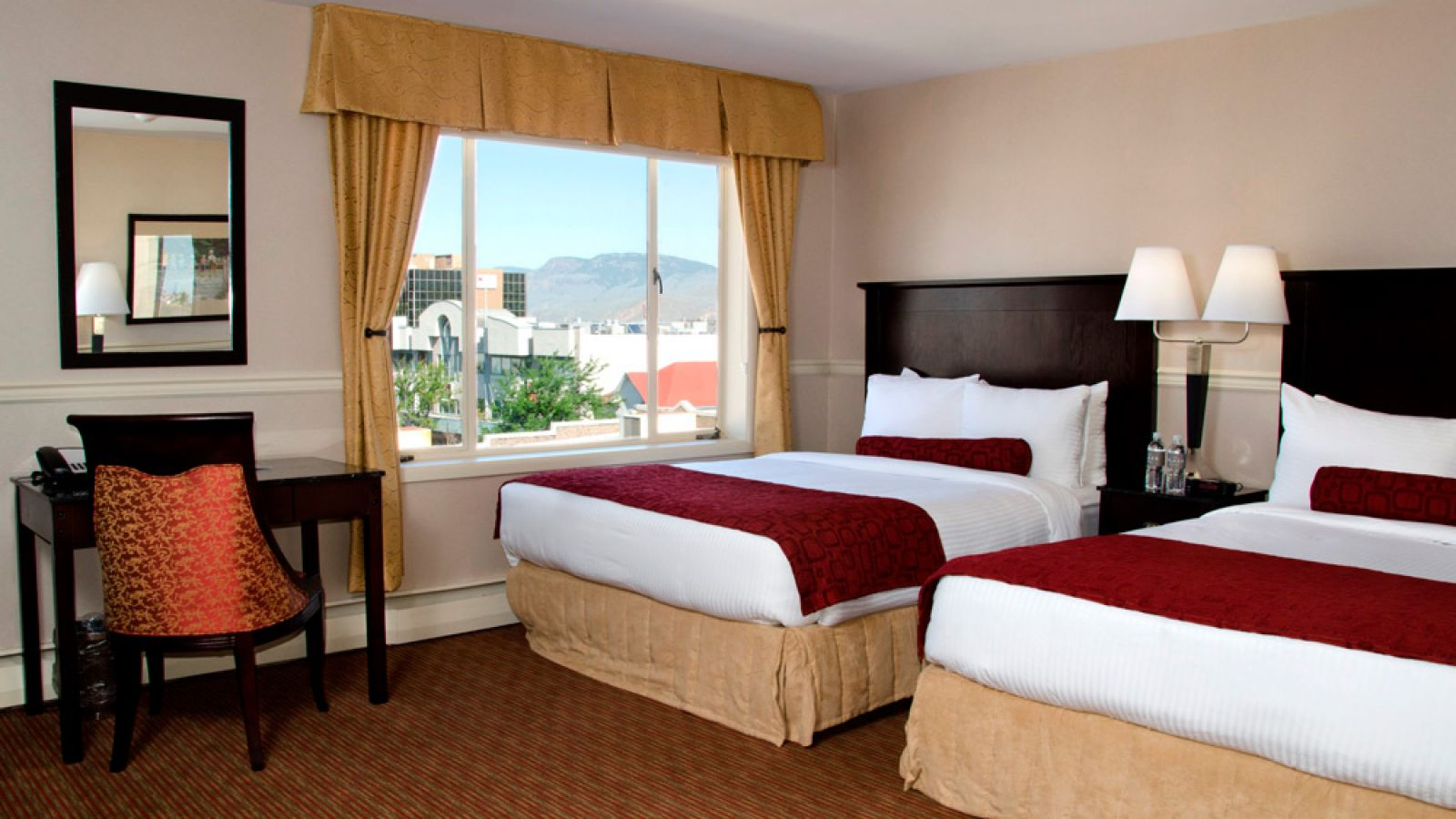 Plaza Hotel Kamloops - Standard 1 queen room