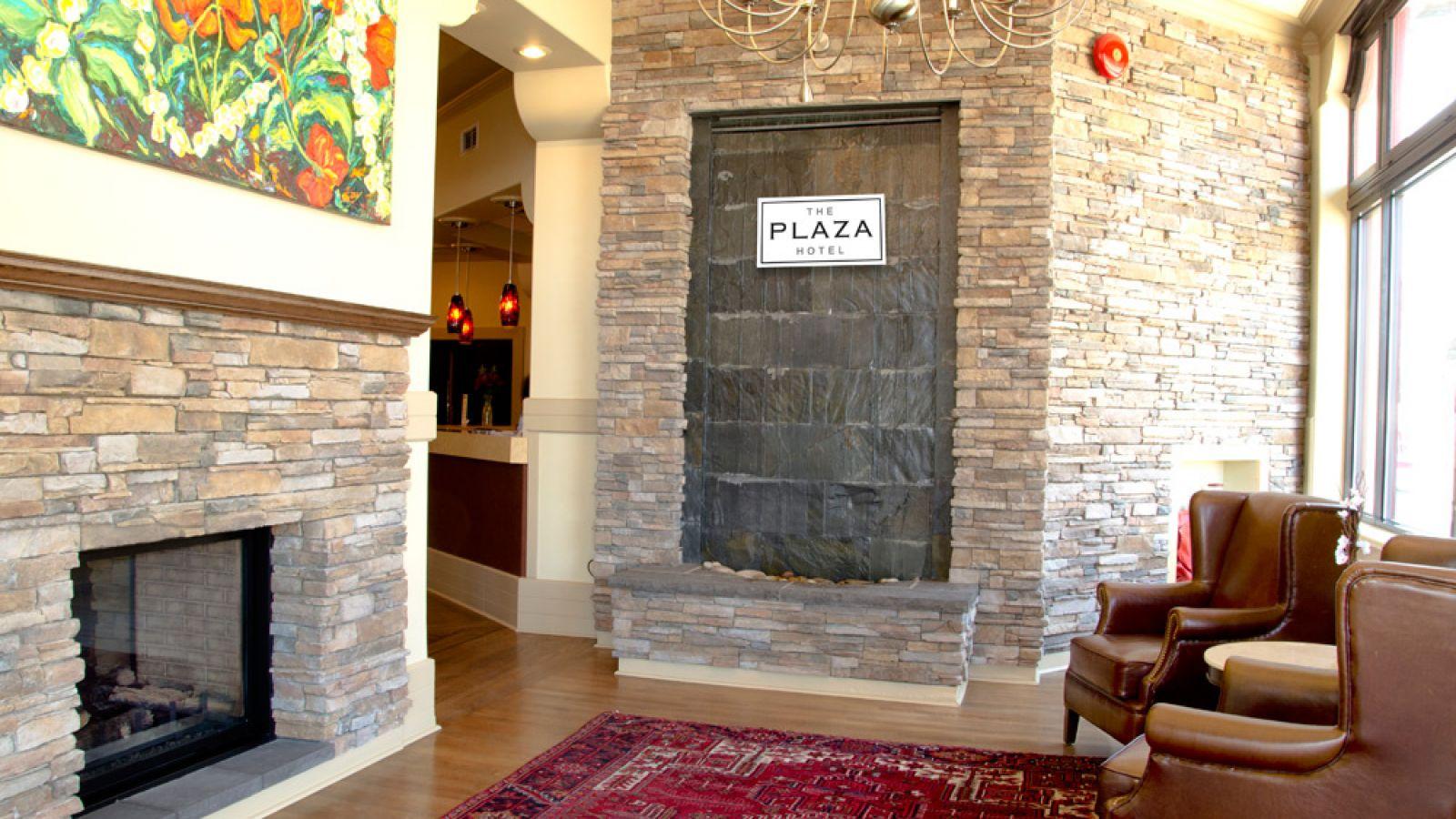 Plaza Hotel Kamloops Lobby