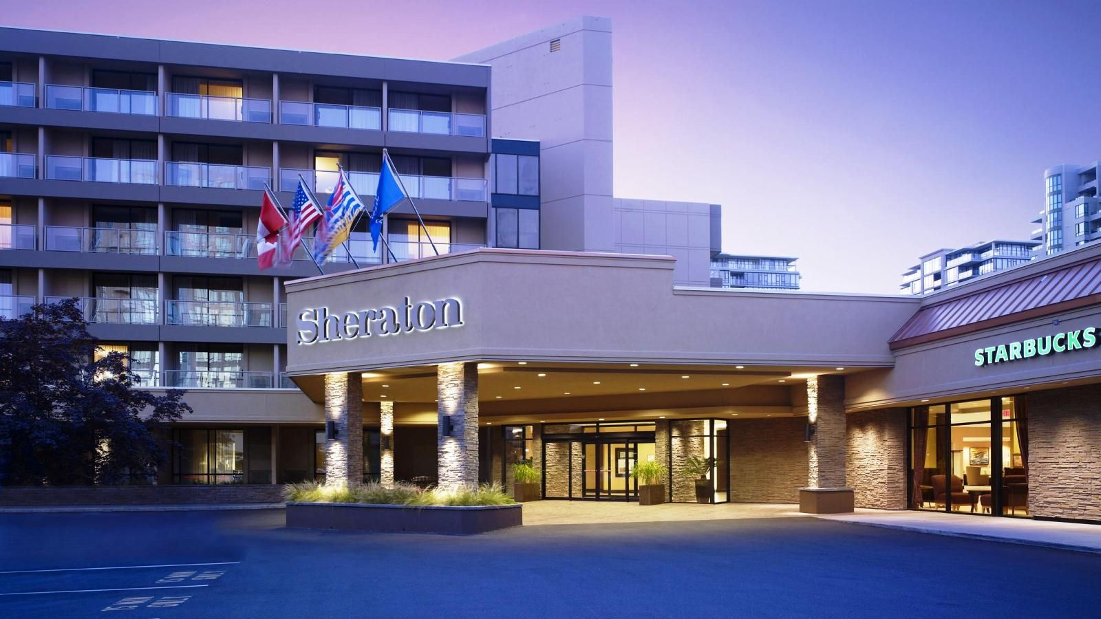 Sheraton Vancouver Airport Hotel - Exterior View
