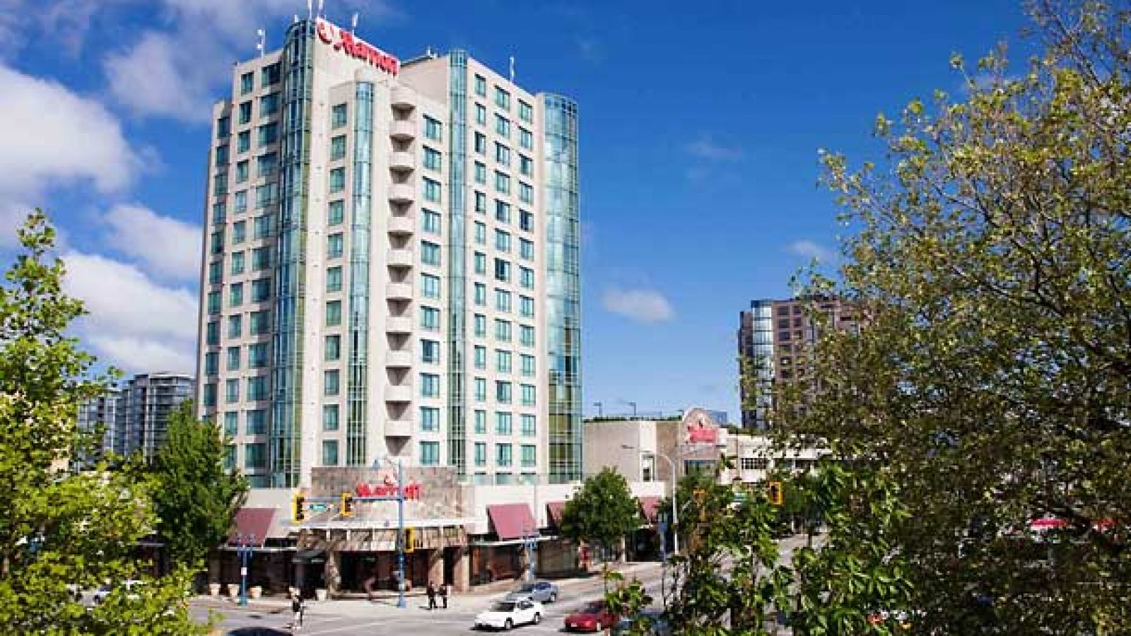 Vancouver Airport Marriott Hotel - Exterior View
