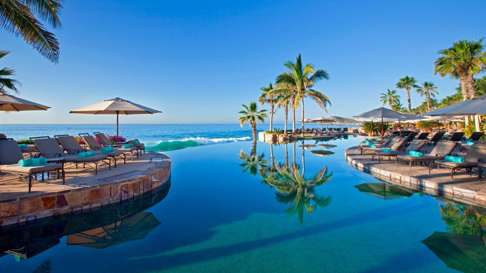 Infinity Pool at the Hacienda del Mar Los Cabos Resort - Villas - Golf