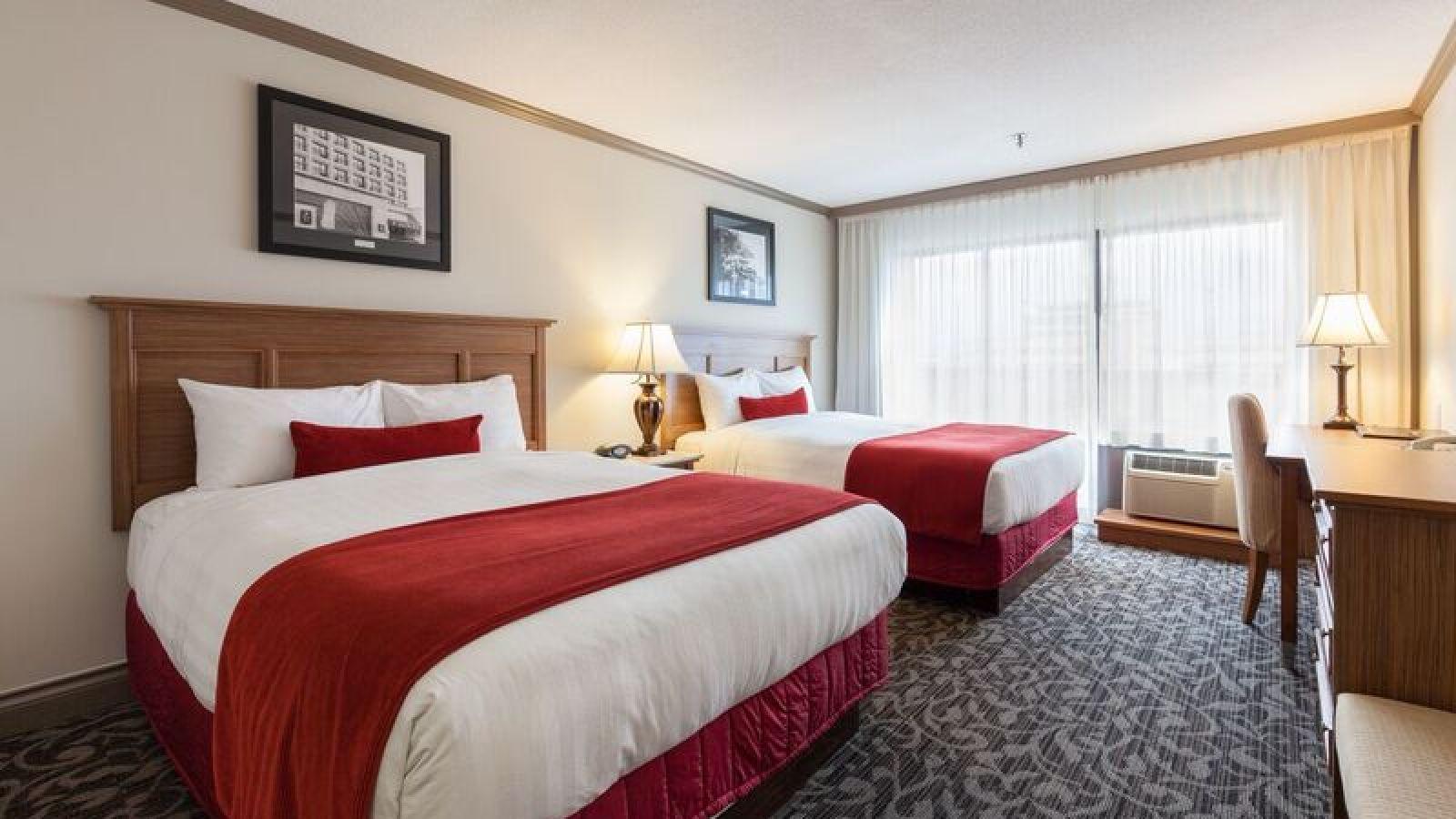 Royal Anne Hotel Kelowna - standard queen/queen