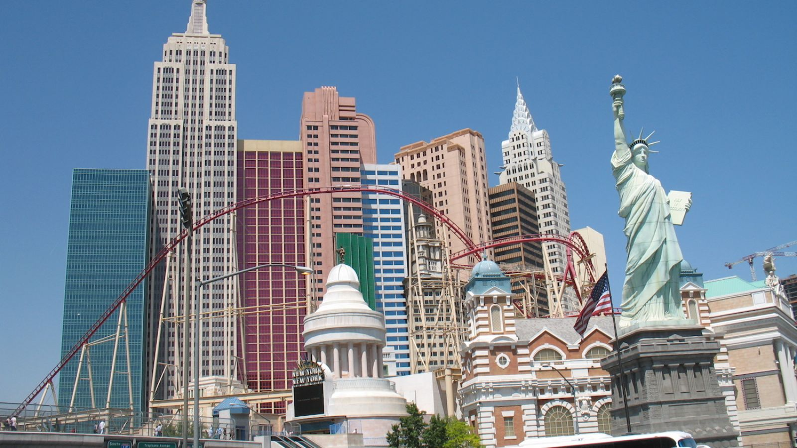 New York New York - Las Vegas golf packages
