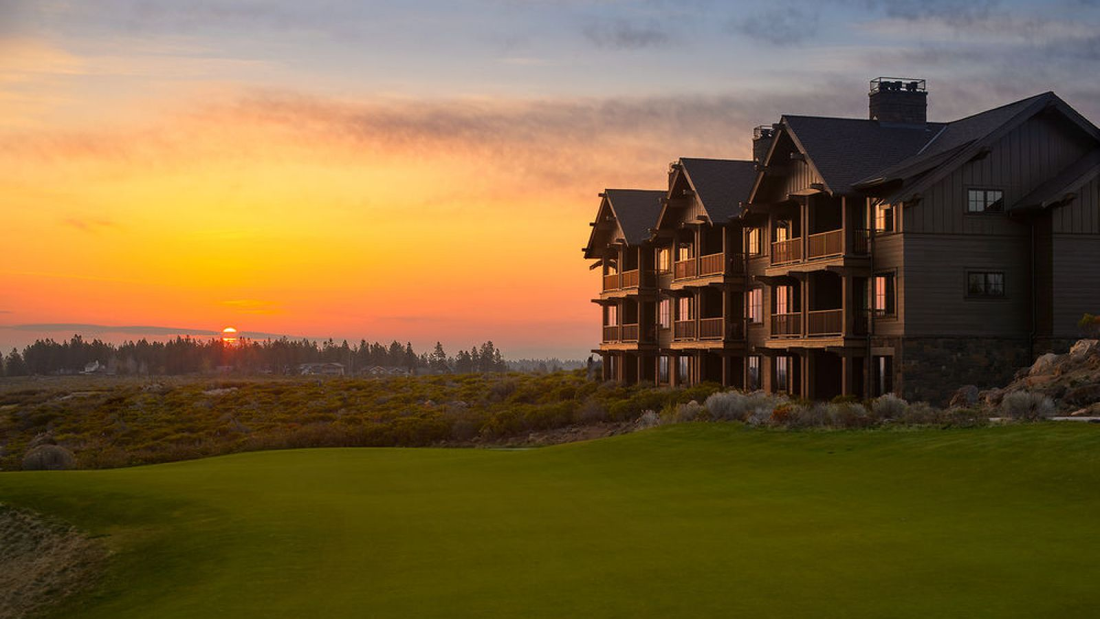 Tetherow Resort - Oregon golf packages