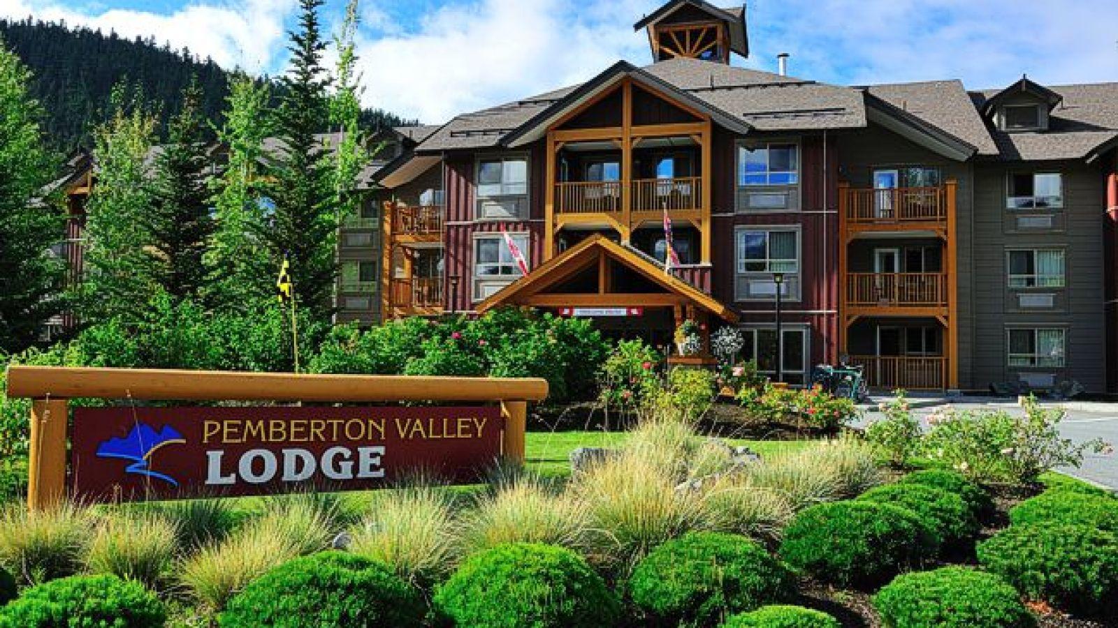 Pemberton Valley Lodge - front view