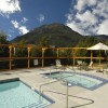 Pemberton Valley Lodge - patio and pool area