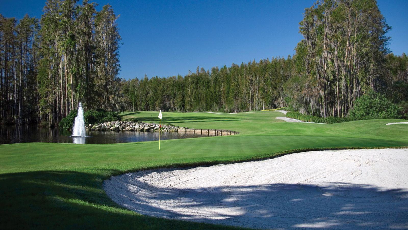 Saddlebrook Resort - 36 holes of golf on site