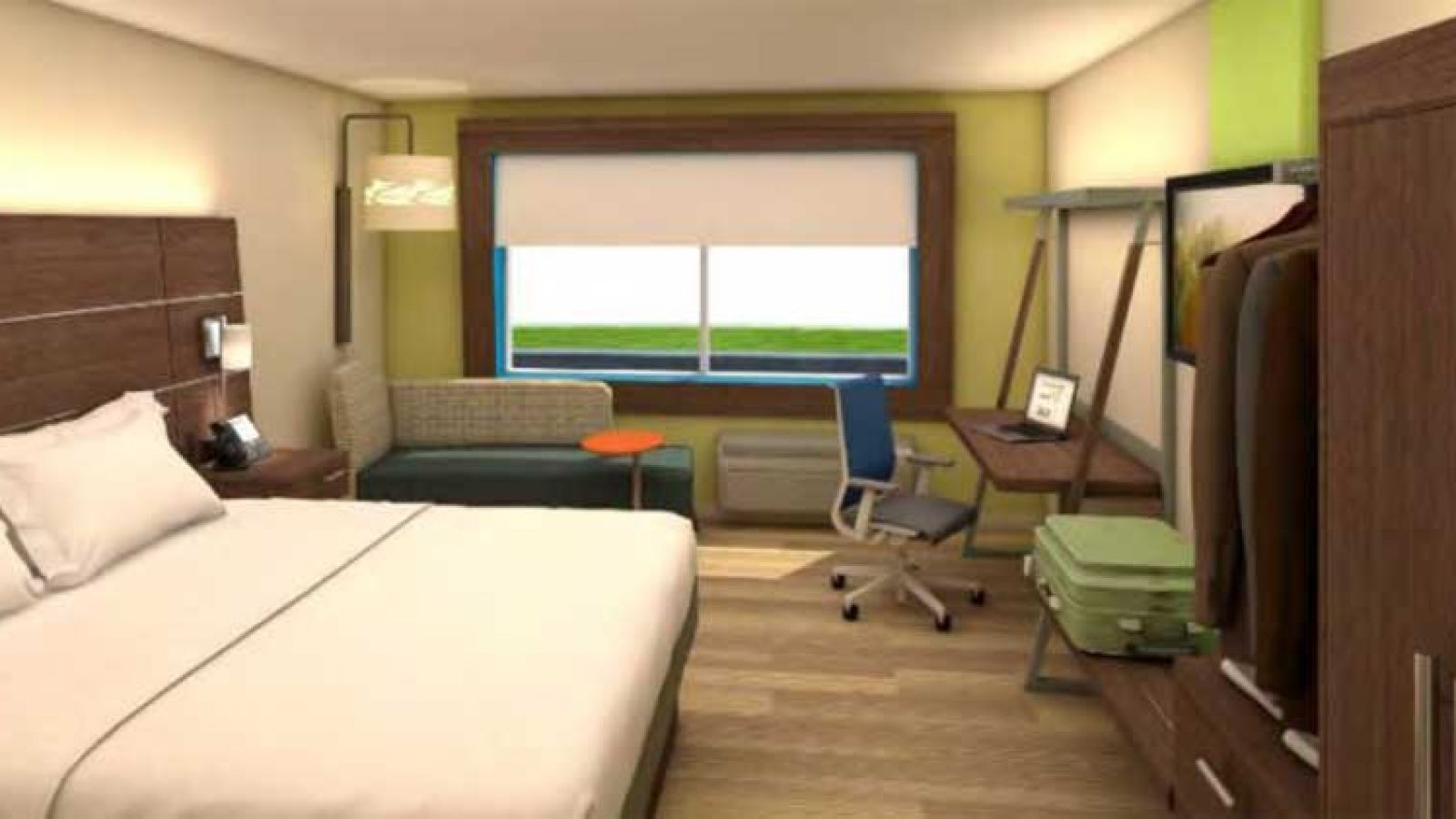 New Holiday Inn Express Kelowna - standard room